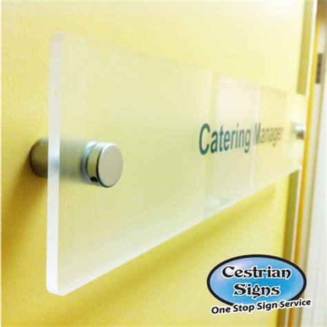 perspex door signs modern house sign plaque door number