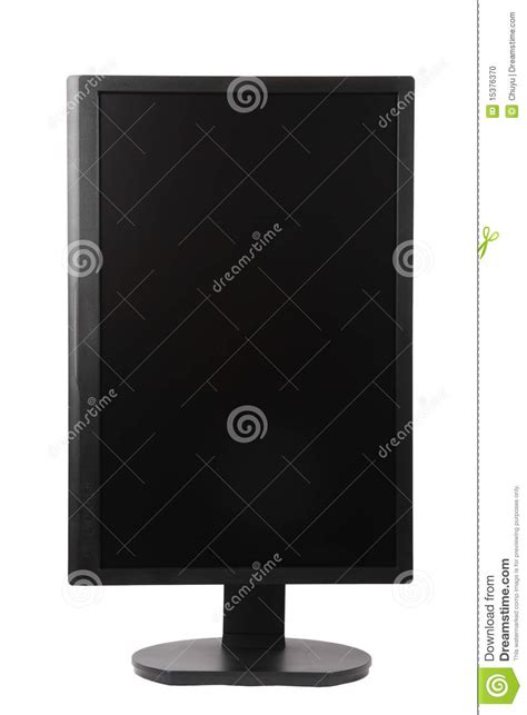 Monitor Lcd Vertical vertical computer lcd monitor stock photo image 15376370