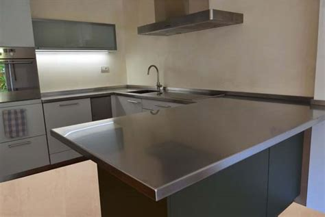 piano cucina in acciaio piano cucina inox mancabelli craft and design