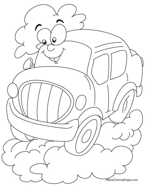 free coloring pages of auto rickshaw