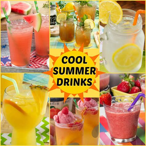 cool summer drink recipes mrfood com