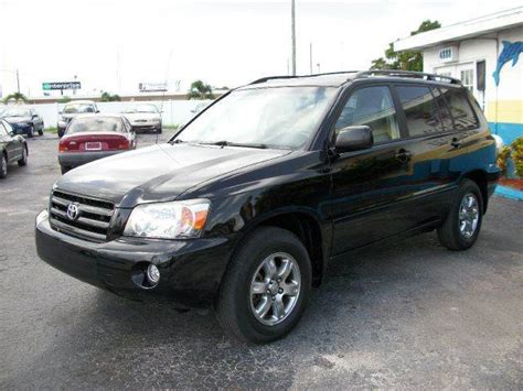 Toyota Of St Petersburg Fl 2005 Toyota Highlander Limited 4dr Suv W 3rd Row In St