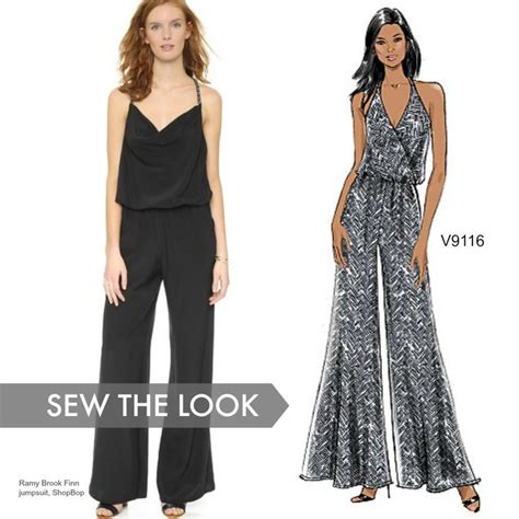 black pattern jumpsuit 245 best images about vogue patterns on pinterest sewing