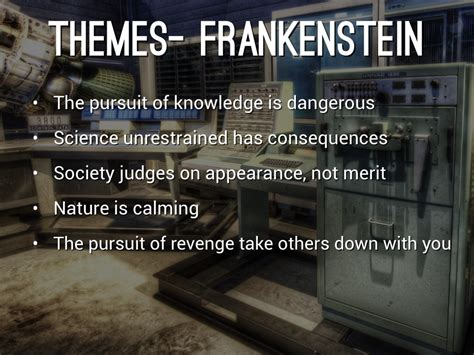 three major themes of frankenstein frankenstein vs jurassic park by kenzie staber