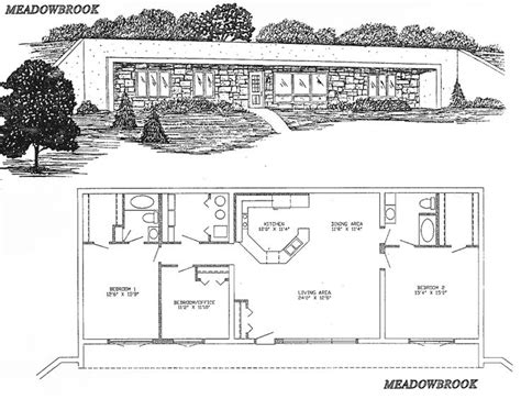 Underground Home Design Images Floor Plan From Earthshelteredtech Earthships Cob
