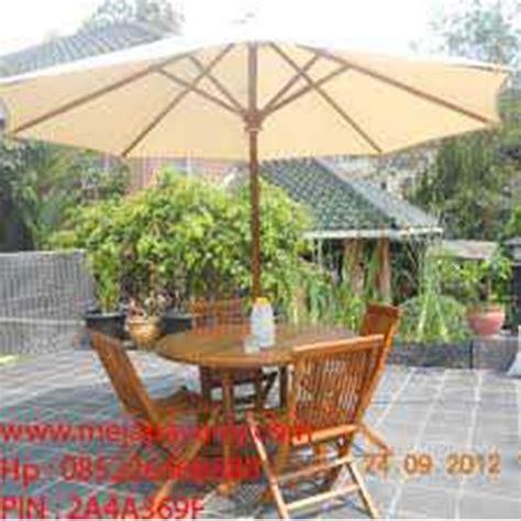 Payung Untuk Taman Kolam Maupun Pantai jual set meja kursi payung meja payung taman meja payung