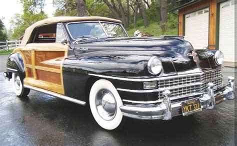 1947 Chrysler Town And Country by 1947 Chrysler Town Country Convertible