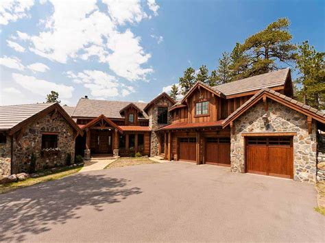 mountain home exteriors evergreen mountain sophisticated home landmark luxury homes
