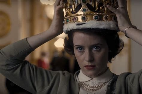 netflix s the crown teaser shows young queen elizabeth ii