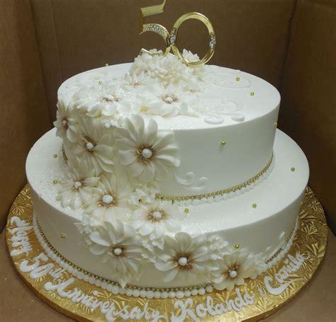 Calumet Bakery 50th Wedding Anniversary /Gold Daisy   50th