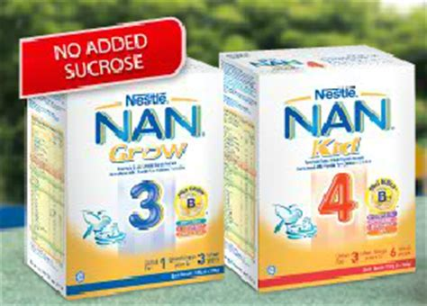 Nan Kid 3 i freebies malaysia freebies gt nestl 233 nan 174 grow 3