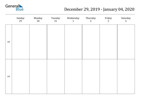 printable weekly calendars     document format