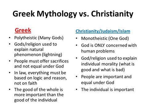 the individuation of god integrating science and religion books greco vs judeo christian ppt