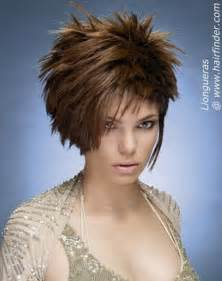 spiked hair with bangs short spiky hairstyles for women