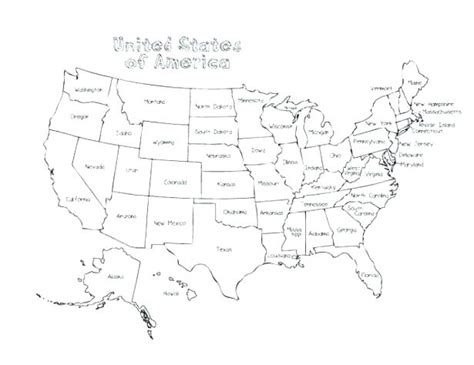 printable map of united states and cities us map travel coloring businessontravel com