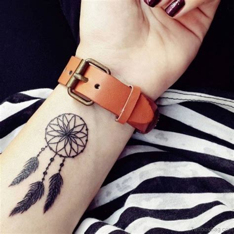 dreamcatcher tattoos wrist 50 wonderful dreamcatcher tattoos on wrist