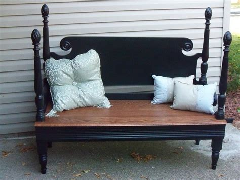 How To Make A Footboard by 30 Diy Repurposed Headboard Ideas Home Design Garden