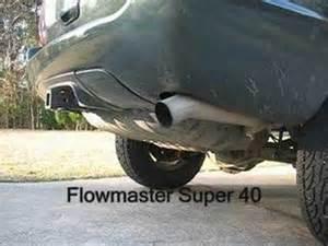 Kolak Jeep Kolak Exhaust On A Wj Flowmaster 70 Series Vs 40