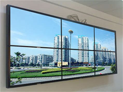 Tv Led Dinding 47inch seam 6 7mm 700cd m2 lcd wall lcd tv wall