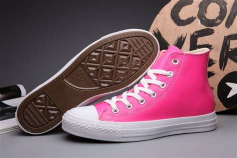 Sepatu Converse Size 37 43 Colorful colorful pink converse all chuck leather high tops sneakers s580304 62 00