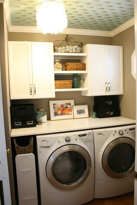 Small Laundry Room Storage Ideas The Boutons Laundry Room