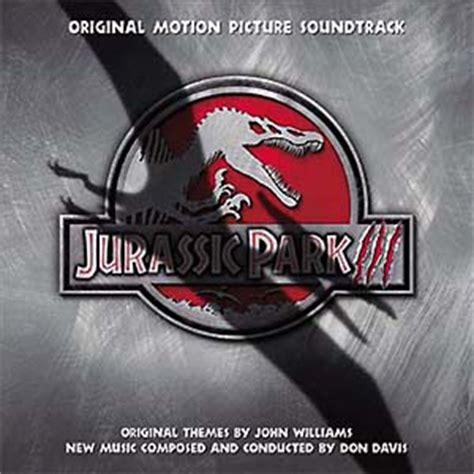 Cd Juta Jutassic Park Iii Satir jurassic park iii soundtrack details soundtrackcollector