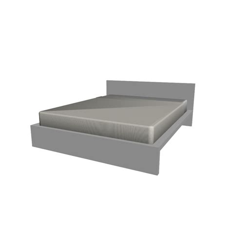 bett malm malm bed frame 140x200cm design and decorate your room in 3d