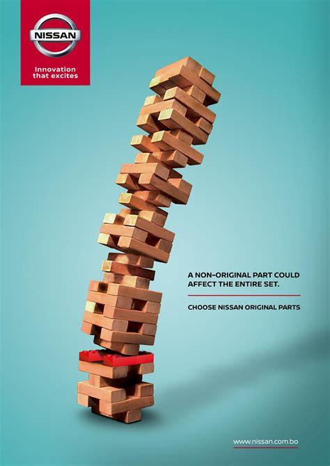 Part Original nissan print advert by universidad cat 243 lica boliviana