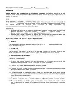 Leaseback Agreement Template sample lease purchase agreement form 6 free documents