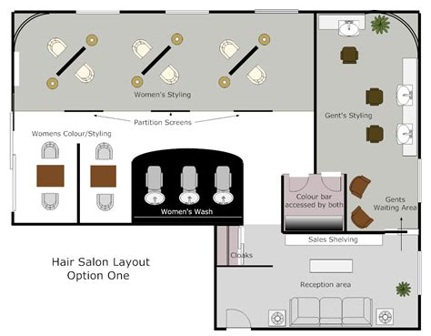 Hairdressing Salon Layout Pictures | hair salon concept autograph interior design