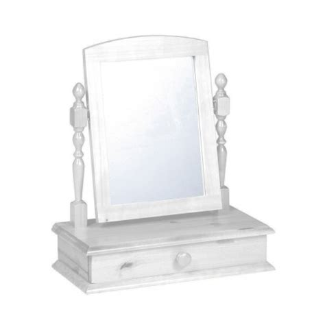 Dresser Table Mirror by Dressing Table Mirror With Drawer In Antique Graphite Or