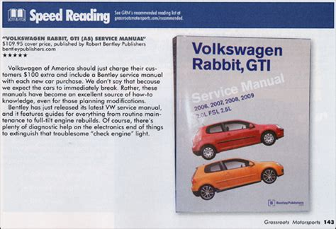 service manuals schematics 2009 volkswagen rabbit navigation system reviews volkswagen rabbit gti a5 repair manual 2006 2009 bentley publishers repair