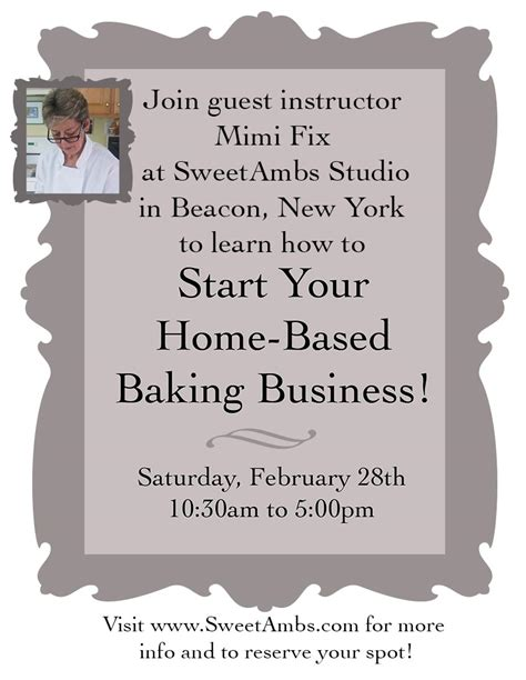 how to start a small home based bakery business 28