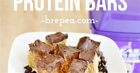 scotcheroo protein bars dark chocolate scotcheroo protein bars recipe bre pea