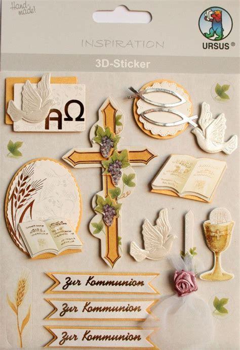 3d Sticker Kommunion by Ursus 3d Sticker Kommunion Manuscrapt
