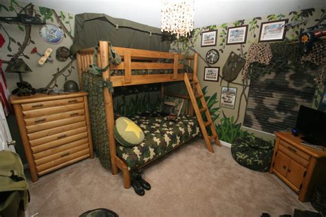Camo Boys Bedroom by Camouflage Bedroom Decor Iron