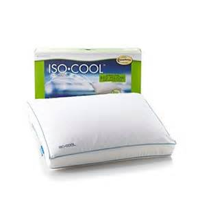 sleep better iso cool memory foam side sleeper pillow