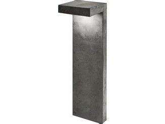 gartenm bel aus metall 215 bolardo luminoso led de cemento pastorale muebles diy