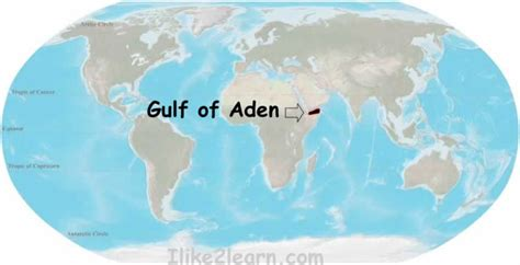 middle east map gulf of aden gulf of aden