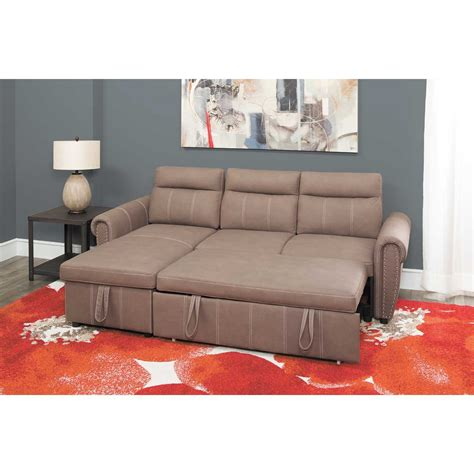 pull out bed sectional farrel 2 piece sectional with pull out bed 1a far 2pc cambridge home afw