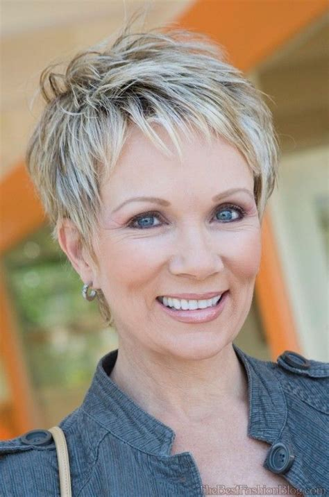 short hairstyles for older women with fat faces fantastic pixie haircuts for women over 50 short haircuts