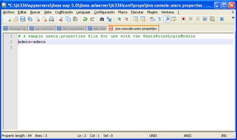 jmx console como acceder al jmx console pantallas el diario de un