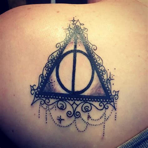 my deathly hallows tattoo harrypotter