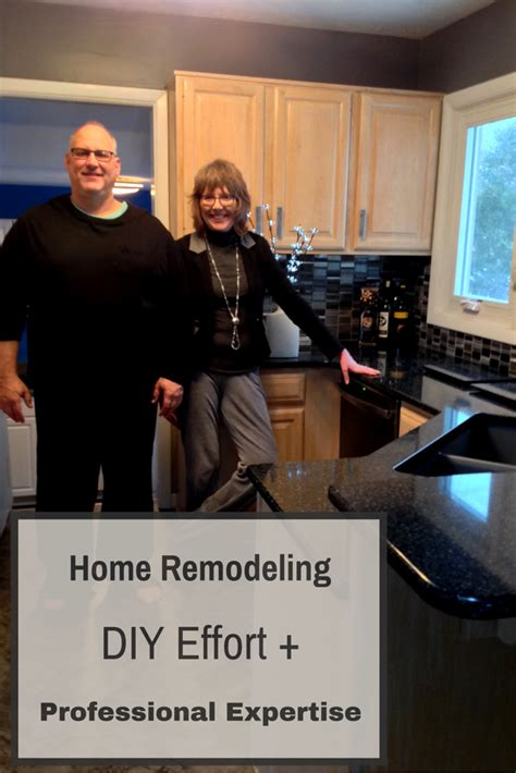 house remodeling combining diy effort with a