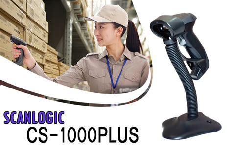 Barcode Scanner Scanlogic Cs 700 Plus Laser Auto Sense Auto Scan scanner barcode scanlogic cs 1000plus kios barcode