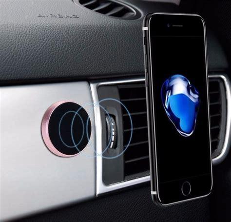 Porta Iphone Auto by Porta Celular Suporte Magn 233 Tico Carro Im 227 Iphone Cor Rosa