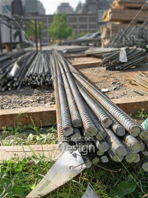Materiel De Construction by Banque D Image Barres D Acier Mat 233 Riel De Construction