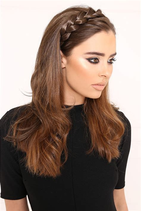 hairstyles to do with plaited extensions luxe crown hair braid hair piece lullabellz