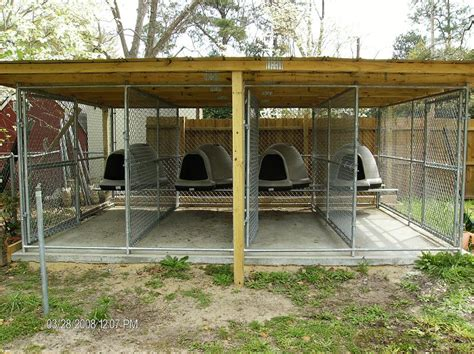 kennels for outside outdoor kennel ideas