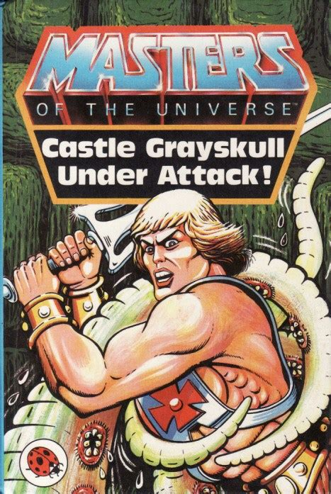 masters of books castle grayskull attack ladybird book masters of the
